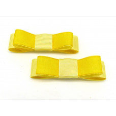 Bella Shoe Bows - Lemon