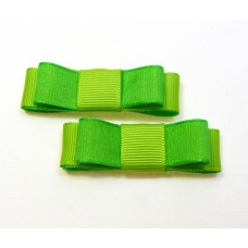 Bella Shoe Bows - Lime