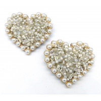 Maisie Shoe Clips - pearls