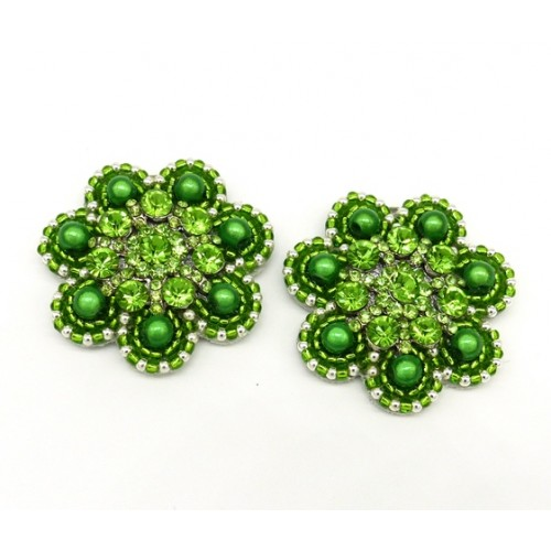 Alexa Shoe Clips - green