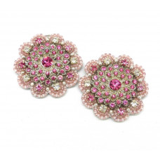 Alexis Shoe Clips - pink
