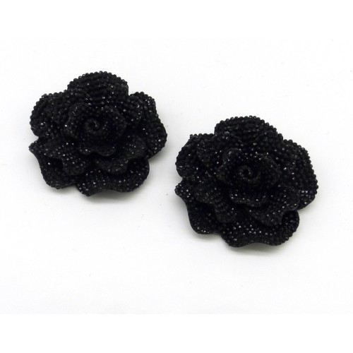 Alice Shoe Clips - black