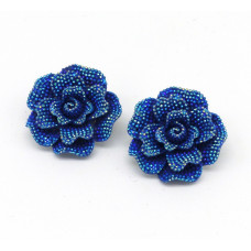 Alice Shoe Clips - blue