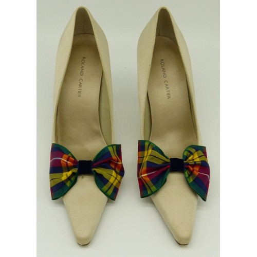 Tartan Bow -  Buchanan Shoe Bows