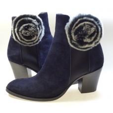 Fleur Fur Shoe Clips