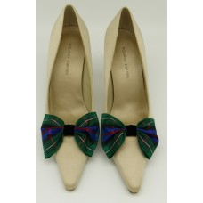 Tartan Bow - Campbell Shoe Bows