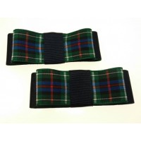 Carly - Campbell Tartan Shoe Bows