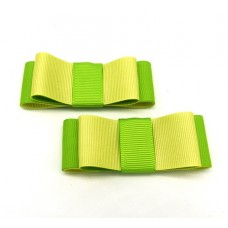 Carly - Lemon and Lime Shoe Bows