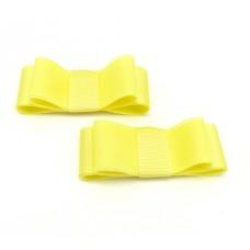 Carly - Lemon Shoe Bows