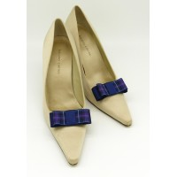 Carly - Pride of Scotland Tartan Shoe Bow
