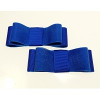 Carly - Royal Blue Shoe Bows