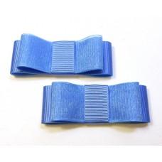Carly - Sky Blue Shoe Bows