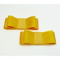 Carly - Yellow Shoe Bows