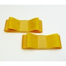 Carly - Yellow Shoe Bows