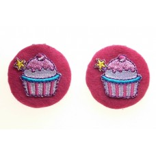 Cupcake Children's  Shoe Clips