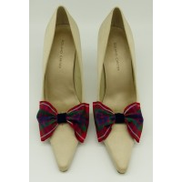 Tartan Bow - Fraser Shoe Bows