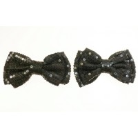 Holly - Black Shoe Bows