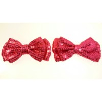 Holly - Fuchsia Shoe Bows