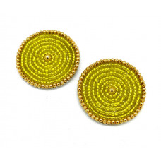 Jane Shoe Clips - yellow