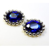 Kitty - Sapphire Shoe Clips