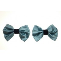 Marilyn - Duckegg Silk Shoe Bows