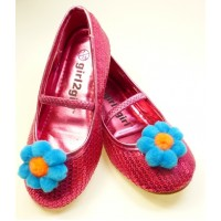 Missie - blue Children's  Shoe Clips