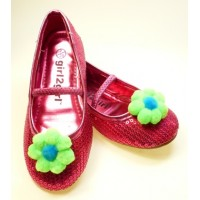 Missie - green Children's  Shoe Clips