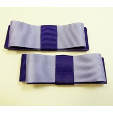 Carly - Purple and lilac Shoe Bows