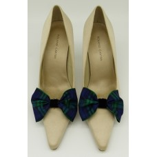 Tartan Bow - Nightwatch Shoe Bows