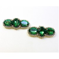 Oonagh - Green Shoe Clips