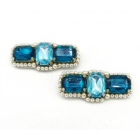 Oonagh - Turquoise Shoe Clips