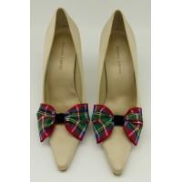 Tartan Bow - Stewart Shoe Bows