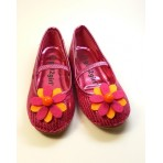 Sunflower - Orange Children's Shoe Clips