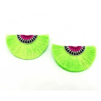 Tiggi Shoe Clips - lime