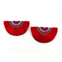 Tiggi Shoe Clips - red