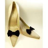 Velvet Bows - Black Shoe Bows
