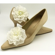 Zoe Wedding Shoe Clips